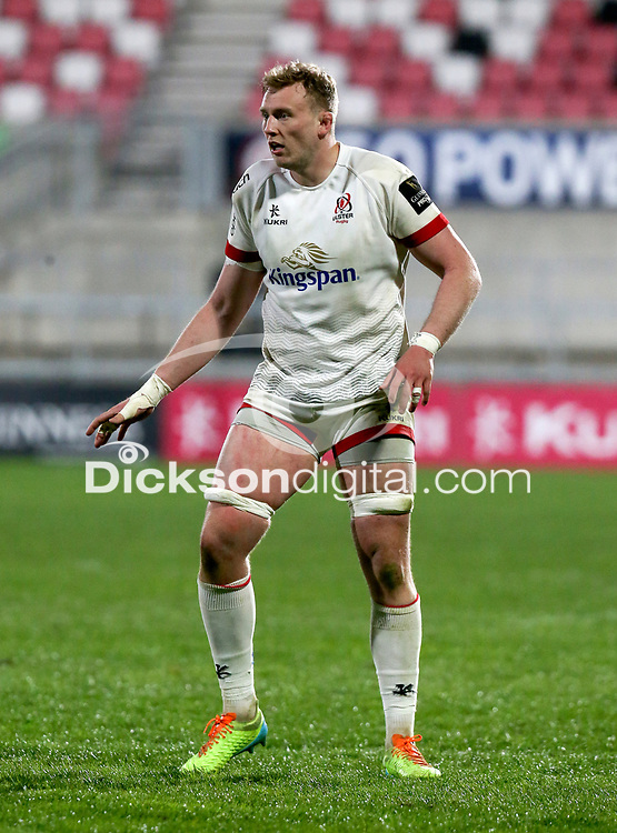 Friday 23rd April 2021; Kieran Treadwell during the first round of the Guinness PRO14 Rainbow Cup between Ulster Rugby and Connacht Rugby at Kingspan Stadium, Ravenhill Park, Belfast, Northern Ireland. Photo by John Dickson/Dicksondigital