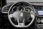 Steering wheel view of a 2013 Citroen DS3 Sport Chic 3 Door Hatchback 2WD