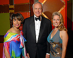 Merele Yarborough with Bill and Melissa King at the Ensemble Theatre Gala at the Hilton Americas Hotel Friday Aug. 15,2008. (Dave Rossman/For the Chronicle)