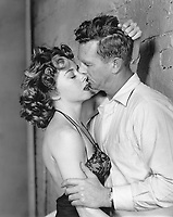 Gloria Grahame with Sterling Haydin in NAKED ALIBI
