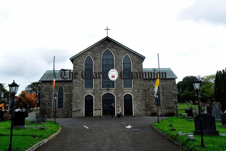 St Lua's Church in Ballina. Photograph by Declan Monaghan