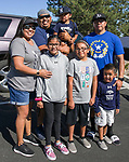 The Wasson family during the Nevada vs Weber State football game in Reno, Nevada on Saturday, Sept. 14, 2019.