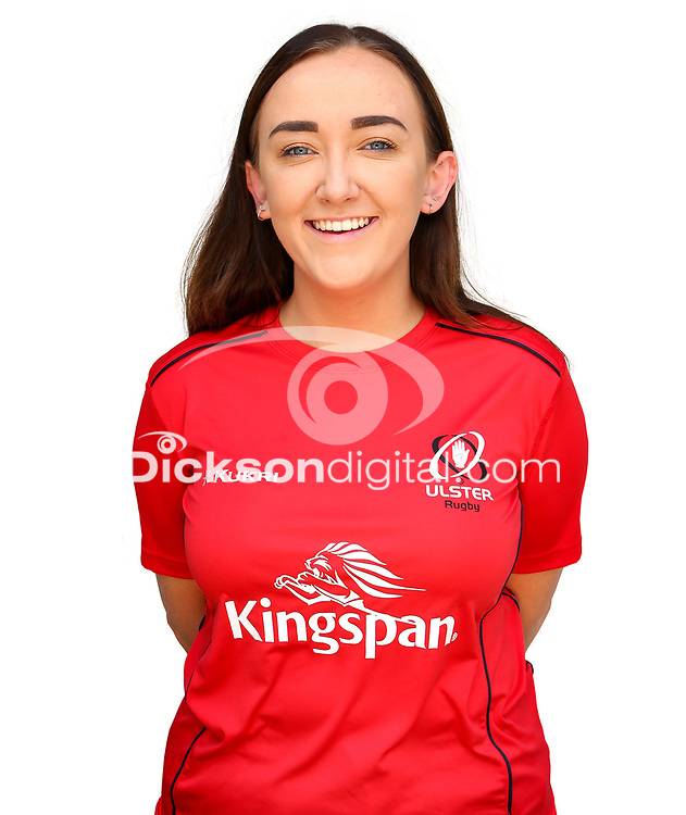 Tuesday 24th August 2021<br /> <br /> Ann-Marie Mullholland<br /> <br /> Ulster Rugby Academy Head Shots at Kingspan Stadium, Ravenhill Park, Belfast, Northern Ireland. Photo by John Dickson/Dicksondigital