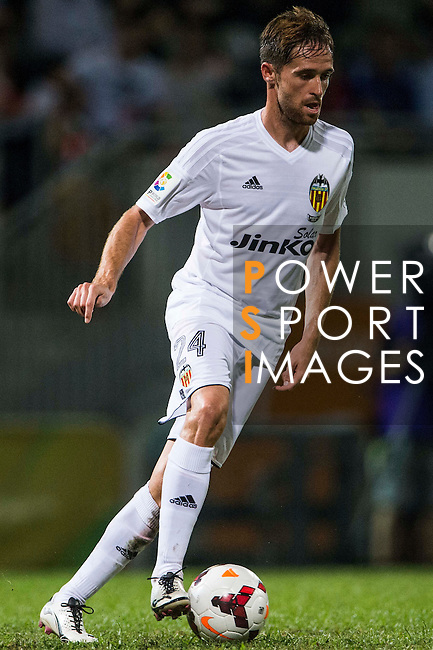 Michel Herrero of Valencia CF in action during LFP World Challenge 2014 between Valencia CF vs Villarreal CF on May 28, 2014 at the Mongkok Stadium in Hong Kong, China. Photo by Victor Fraile / Power Sport Images