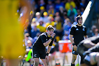 Aidan Morgan during the rugby union match between New Zealand Schools and Australia Under-18s at St Paul's Collegiate in Hamilton, New Zealand on Friday, 4 October 2019. Photo: Dave Lintott / lintottphoto.co.nz
