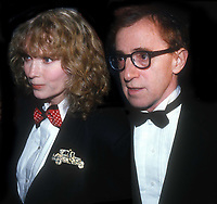 Woody Allen and Mia Farrow Undated<br /> Photo By John Barrett/PHOTOlink /MediaPunch