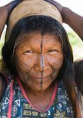 Pará State, Brazil. Aldeia Moikarako. Ngerkingho Kayapo.
