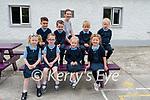 35 b2s Glenbeigh<br /> <br /> The Junior Infants class at Glenbeigh National School with their teacher Aoife Benton.<br /> Front L-R Millie, Seóda, Ellie, Ella.<br /> Back: Laith, Jack, Jack & Oisín.