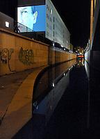 9.Oktober 1989 in Leipzig - Lichtfest - Stationen am Ring - Lichtinstallationen - im Bild: Station Nr. 15 . Foto: Norman Rembarz..Norman Rembarz , ,Holbeinstr. 14, 04229 Leipzig, Tel.: 01794887569, Hypovereinsbank: BLZ: 86020086, KN: 357889472, St.Nr.: 231/261/06432 - Jegliche kommerzielle Nutzung ist honorar- und mehrwertsteuerpflichtig! Persönlichkeitsrechte sind zu wahren. Es wird keine Haftung übernommen bei Verletzung von Rechten Dritter. Autoren-Nennung gem. §13 UrhGes. wird verlangt. Weitergabe an Dritte nur nach  vorheriger Absprache..