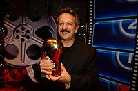 Majid Majidi lors de la cloture du  Festival des Films du Monde, 4 septembre 2001<br /> <br /> PHOTO : <br />  - Agence Quebec Presse<br /> <br /> NOTE : Les ajustements finaux, recadrage et retouche des poussieres seont effectuées sur les images commandées.
