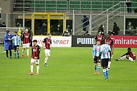 Milano 14-03-2021<br /> Stadio Giuseppe Meazza<br /> Serie A  Tim 2020/21<br /> Milan - Napoli<br /> Nella foto: \delusione                                     <br /> Antonio Saia