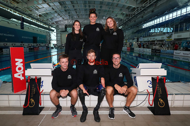 Swimming NZ events team during Session 6 of the AON New Zealand Swimming Champs, National Aquatic Centre, Auckland, New Zealand. Thursday 8 April 2021 Photo: Simon Watts/www.bwmedia.co.nz