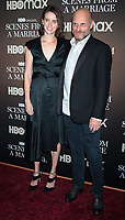 NEW YORK, NY- October 10: Amy Herzog, Hagai Levi, at the HBOMAX premiere of Scenes From A Marriage at the Museum of Modern Art Titus Theatre in New York City on October 10, 2021 <br /> CAP/MPI/RW<br /> ©RW/MPI/Capital Pictures