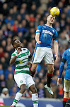 Clint Hill and Moussa Dembele