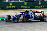 Scuderia Toro Rosso Honda driver Daniil Kvyat (26) of Russia in action during the Formula 1 Emirates United States Grand Prix practice session held at the Circuit of the Americas racetrack in Austin,Texas.