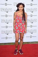 Yinka Bokinni<br /> at the launch party for Comedy Central's FriendsFest, presented by The Luna Cinema at Haggerston Park.<br /> <br /> ©Ash Knotek  D3146  23/08/2016