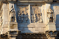 Detail from The Arch Of Constantine . Rome