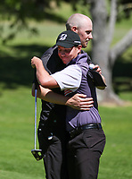 James Hydes defeats Sam Jones. 2020 Interprovincial Golf Championships, Whitford Gold Club, Auckland, New Zealand, Saturday 28 November 2020. Photo: Simon Watts/www.bwmedia.co.nz
