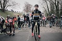 Lars van der Haar (NED/Telenet Fidea Lions) at the start<br /> <br /> Elite Men's race<br /> UCI CX World Cup Namur / Belgium 2017