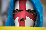 © Joel Goodman - 07973 332324 .  07/02/2015 . Dudley , UK . Approximately 500 EDL supporters at an English Defence League demonstration in Dudley , in the West Midlands , this afternoon ( Saturday 7th February 2015 ). Photo credit : Joel Goodman