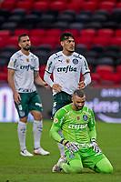 30th May 2021; Maracana Stadium, Rio de Janeiro, Brazil; Brazilian Serie A, Flamengo versus Palmeiras; Gustavo Gómez and Weverton of Palmeiras