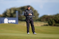 3rd October 2021; The Old Course, St Andrews Links, Fife, Scotland; European Tour, Alfred Dunhill Links Championship, Fourth round; Shane Lowry of Ireland during the final round of the Alfred Dunhill Links Championship on the Old Course, St Andrews