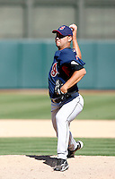 Edward Mujica -  Cleveland Indians - 2009 spring training.Photo by:  Bill Mitchell/Four Seam Images