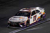 CONCORD, NORTH CAROLINA - MAY 28:  Denny Hamlin, driver of the #11 FedEx SupportSmall Toyota, drives during the NASCAR Cup Series Alsco Uniforms 500 at Charlotte Motor Speedway on May 28, 2020 in Concord, North Carolina. (Photo by Chris Graythen/Getty Images)