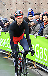 Taylor Phinney (USA) BMC Racing Team at the sign on before the start of the 104th edition of the Milan-San Remo cycle race at Castello Sforzesco in Milan, 17th March 2013 (Photo by Eoin Clarke 2013)