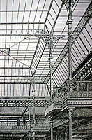 Le Bon Marché, a department store in Paris. Founded in 1852 by Aristide Boucicaut, it was the first ever modern department store. Designed by the architect Louis-Charles Boileau and the engineer Gustave Eiffel.