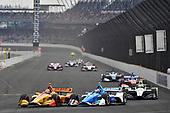 Ryan Hunter-Reay, Andretti Autosport Honda, Ed Jones, Chip Ganassi Racing Honda
