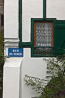 Europe/France/Aquitaine/64/Pyrénées-Atlantiques/Pays-Basque/Hendaye:  la Maison ou mourut Pierre Loti _ Rue des Pêcheurs