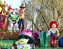 Disney Christmas Stories parade at Tokyo Disneyland