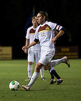 The Winthrop University Eagles lose 2-1 in a Big South contest against the Campbell University Camels.  Adam Brundle (12)