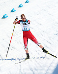 Pyeongchang, Korea, 13/3/2018- Mark Arendz competes in the mens 12.5km standing biathlon during the 2018 Paralympic Games in PyeongChang. Photo Scott Grant/Canadian Paralympic Committee.