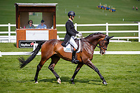 GBR-Phil Brown rides Harry Robinson during the Dressage for the CCI4*-S. 2021 GBR-Barbury International Horse Trials. Wiltshire. Great Britain. Thursday 8 July. Copyright Photo: Libby Law Photography