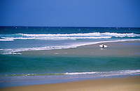 Europe/France/Aquitaine/33/Gironde/Bassin d'Arcachon/Le Cap Ferret: Plage du Truc vert sur l'océan Atlantique
