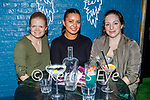 Enjoying the evening in Molly J's on Friday, l to r: Maura Feasvy (Tralee), Manbir Parmar and Charlotte Zwimpfer.