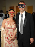 Edurne Esponda and Dan Dubrowski at the 20th Anniversary Gala at the Menil Friday April 20,2007.(Dave Rossman/For the Chronicle)