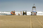 Karekare Beach, Lifeguards.