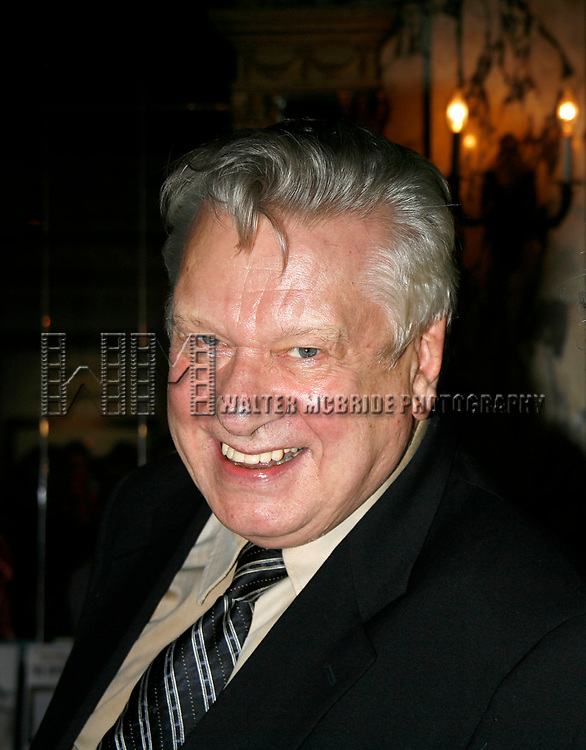 Brian Murray arriving for the Opening Night performance for the Roundabout Theatre Company's Production of THE RITZ at Studio 54 in New York City.<br />