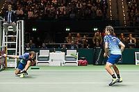 ABN AMRO World Tennis Tournament, Rotterdam, The Netherlands, 18 Februari, 2017, Wesley Koolhof (NED), Matwe Middelkoop (NED)<br /> Photo: Henk Koster
