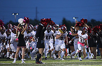 Friday, Oct. 8, 2021, during the first half of play at Wildcat Stadium in Springdale. Visit nwaonline.com/211009Daily/ for today's photo gallery.<br /> (Special to the NWA Democrat-Gazette/David Beach)
