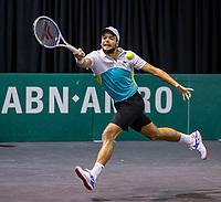 Rotterdam, The Netherlands, 9 Februari 2020, ABNAMRO World Tennis Tournament, Ahoy, Qualyfying round: Gregiore Barrere (FRA)<br /> Photo: www.tennisimages.com