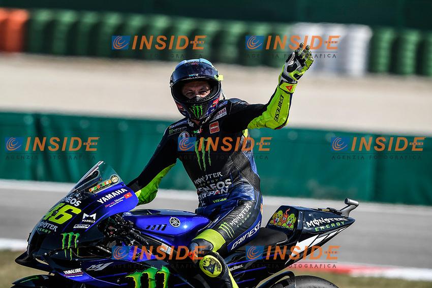 Valnetino Rossi , MotoGP race, San Marino MotoGP, 13 September 2020<br /> Misano 13/09/2020 Moto Gp San Marino e Riviera di Rimini <br /> Photo Yamaha Press Office / Insidefoto<br /> EDITORIAL USE ONLY