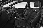 Front seat view of 2014 Volkswagen Golf R 5 Door Hatchback 4WD Front Seat car photos