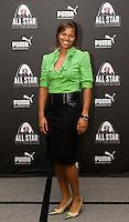 Karina LeBlanc during the WPS All Star Game Gala, in St. Louis, MO, August 29, 2009.