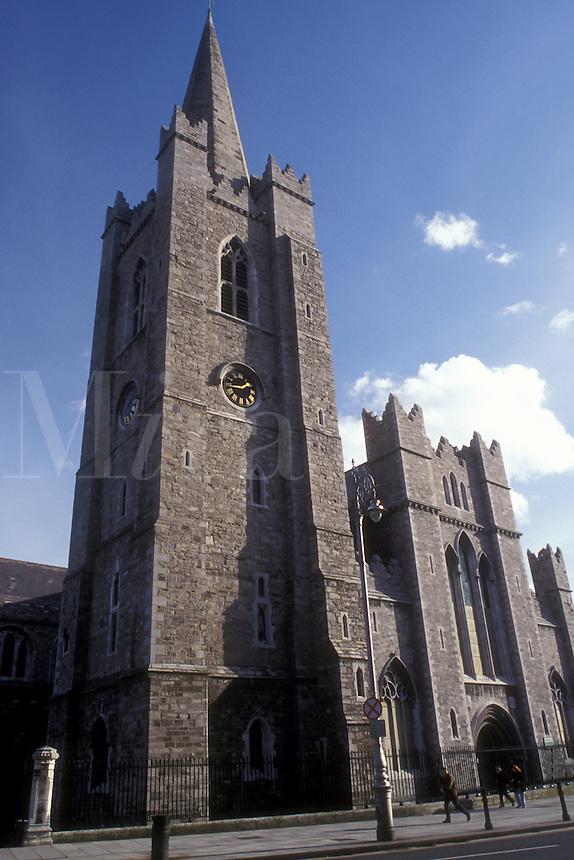 AJ0961, Europe, Republic of Ireland, Ireland, Dublin. St. Patrick's Cathedral in Dublin in County Dublin.
