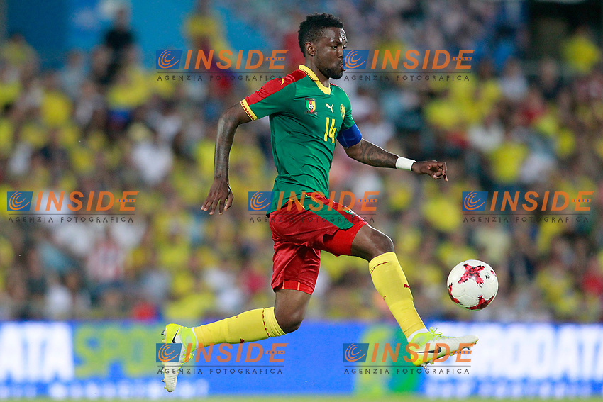 Cameroon's Georges Mandjeck during international friendly match. June 13,2017.(ALTERPHOTOS/Acero/Insidefoto)<br /> Camerun - Colombia <br /> Foto Acero/Alterphotos/Insidefoto <br /> ITALY ONLY