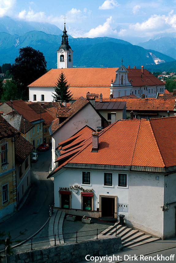 Slowenien, Kamik.